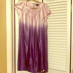 Ladies Silk Mini Dress